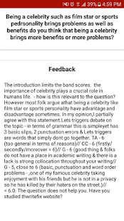 ielts essays feedback android apps on google play  ielts essays feedback screenshot thumbnail