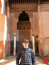 Photo: at Saadian Tombs in Marrakech