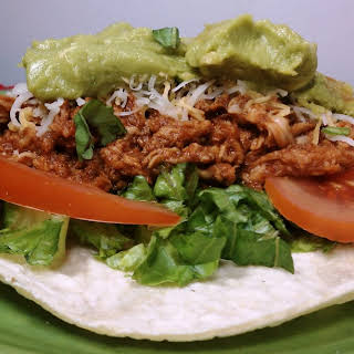 Slow Cooked Mexican Pulled Pork Tacos.