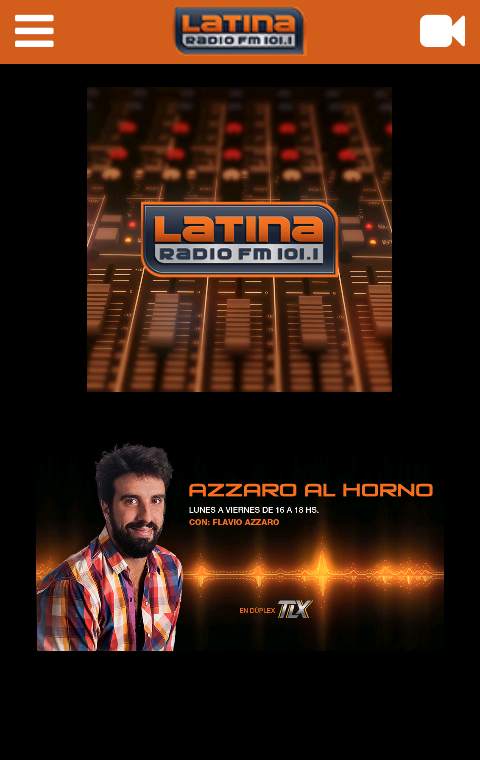 Radio Latina FM 101.1- screenshot