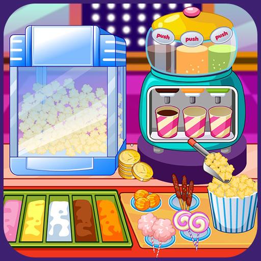 Popcorn maker Icon