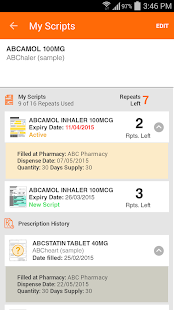 MedAdvisor- screenshot thumbnail