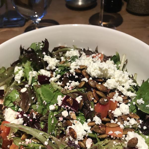 Random Tavern at Kedron Valley Inn Roasted Beet Salad. Yum!