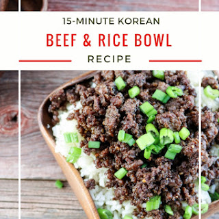 Beef Rice Bowl Recipes.