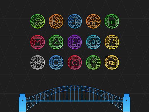 Pixel Net - Neon Icon Pack ss3
