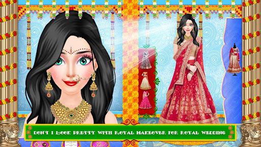 Royal Indian Girl Fashion Salon For Wedding 1.0 screenshots 3