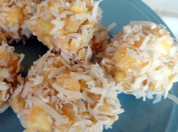 Caramel Coconut Marshmallow Balls Recipe