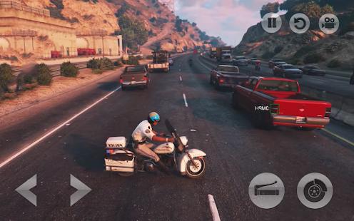 Police Motorbike : Simulator Crime City Chase 3D - náhled