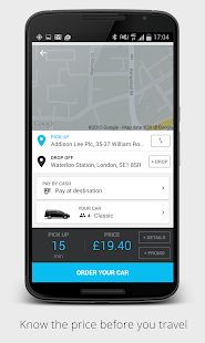 Addison Lee – London Minicabs- screenshot thumbnail