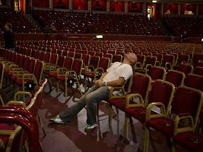 Photo: Pre gig nerves Albert Hall London