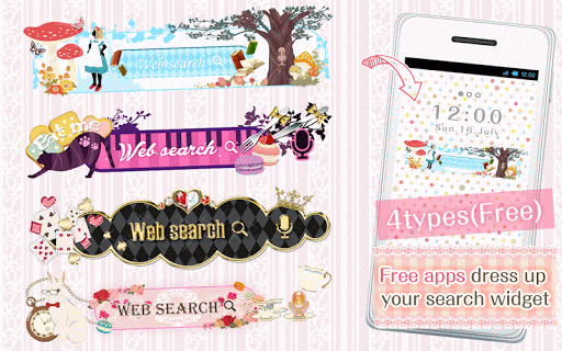 Kawaii Widget Alice Collection