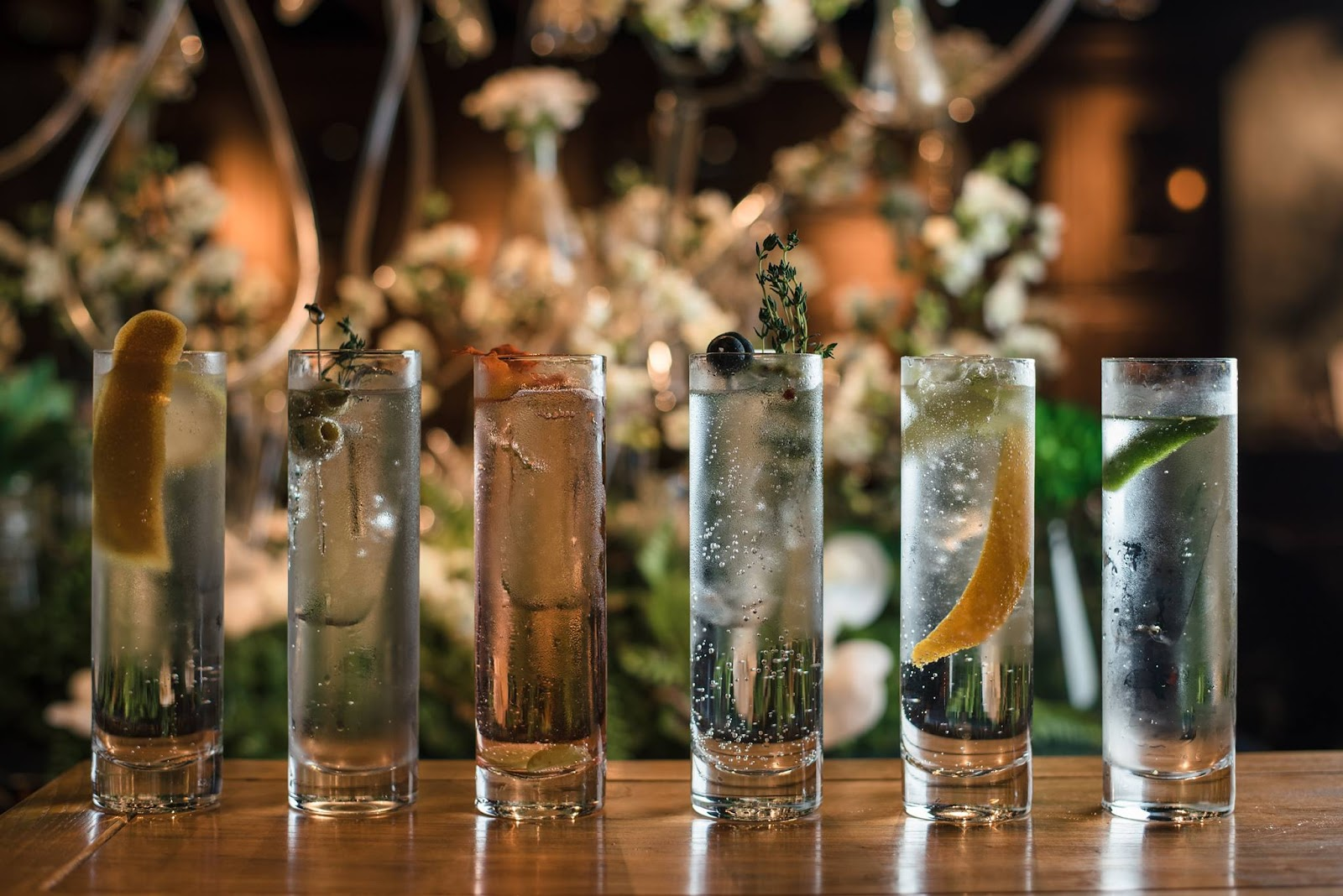 Dr. Fern's specialty gins
