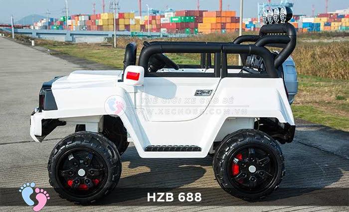 Xe ô tô điện cho bé Jeep HZB-688 12
