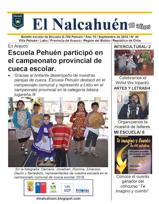 El Nalcahuén IMPRESO N° 40 (Septiembre de 2018)