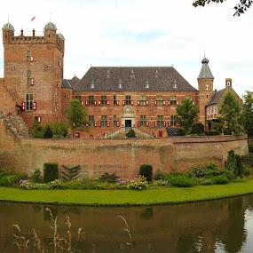 Castle Heerenberg- Holland by Bob Has - Buildings & Architecture Statues & Monuments ( gelderland, holland, the netherlands, castle )