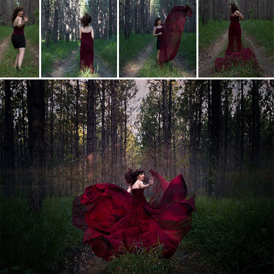 """""""If You Go Down To The Woods Today"""" – Extending Hair And Dresses"""