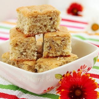 Walnut Blondies.