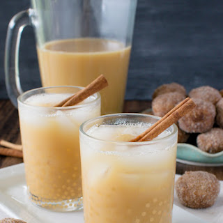 Caramel Apple Cider Iced Tea.