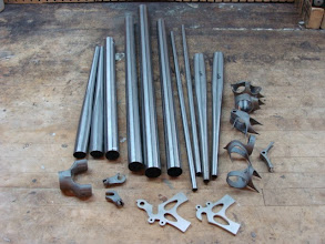 Photo: Raw materials for a Strada.