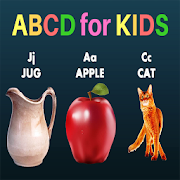 ABCD for KIDS - Learning Alphabets for Toddlers