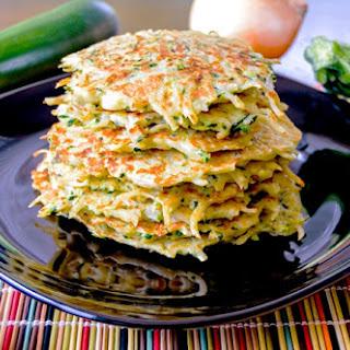Savory Zucchini & Potato Pancakes Recipe