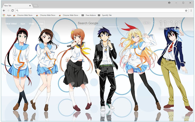 Nisekoi Anime HD Wallpapers Nisekoi New Tab
