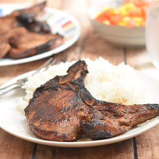 Toyomansi Pork Chops.