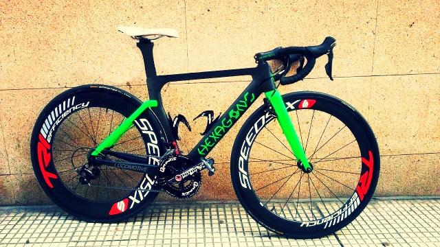 bici aero hexagono bikes