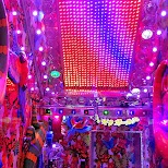 senses overload at the Robot Restaurant in Kabukicho in Kabukicho, Tokyo, Japan