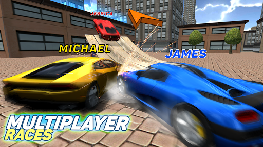 Multiplayer Driving Simulator  screenshots 8