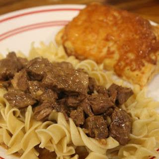 Pot Roast Stroganoff #SundaySupper Recipe