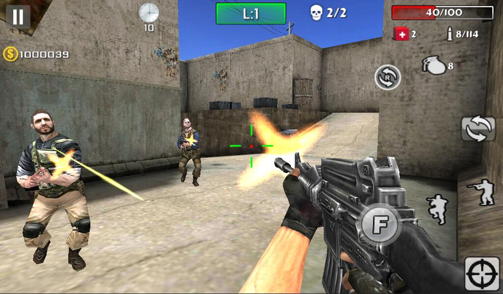 Gun Strike Shoot- screenshot