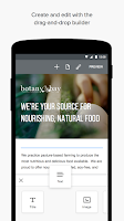 Screenshot of Weebly - Create a Free Website