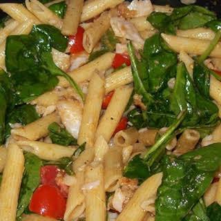 Jalapeno Garlic Tilapia Pasta.