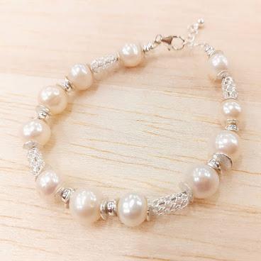 珍珠純銀手鏈
