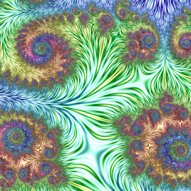 by Cassy 67 - Illustration Abstract & Patterns ( swirl, digital art, fractal art, spiral, fractal, digital, fractals, flower )