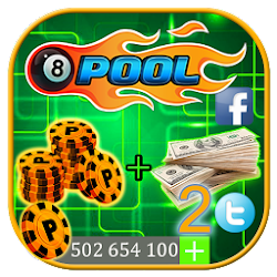 Rewards for 8 Ball Pool: Simulator of Coins & Cash