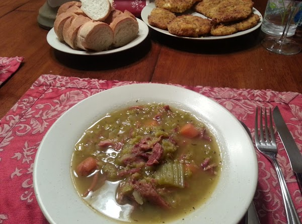 Smoked Ham Split Pea Soup Recipe