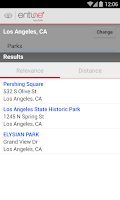 Screenshot of Toyota Entune®