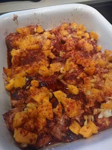 Mango Chicken Cutlets