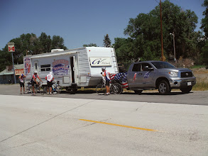 Photo: Day 19 Dubois to Riverton WY 79 miles 1410' climbing: Time for lunch