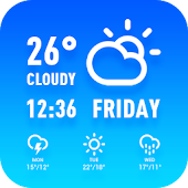 Tải Hourly weather forecast and long APK