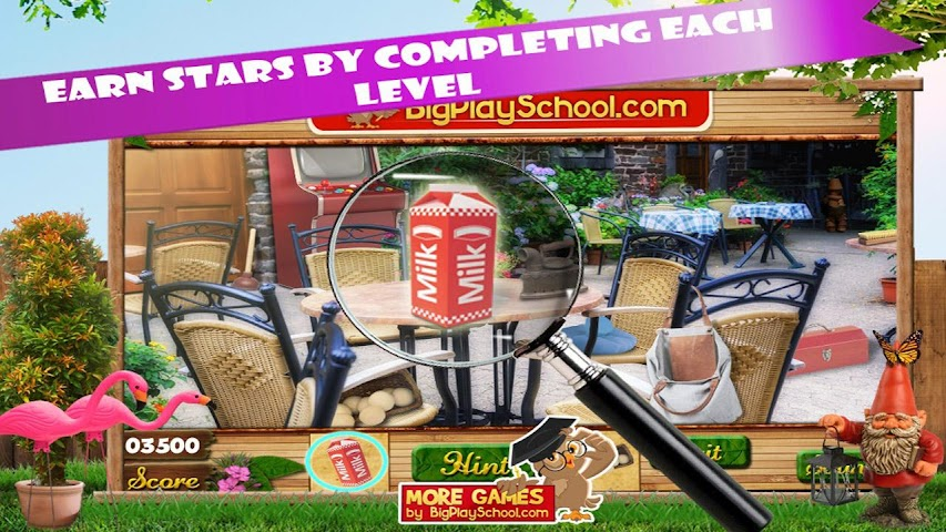 android Backyard Fun New Hidden Object Screenshot 2