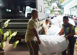 Korban aktivitas Gempa Bumi  di Lombok