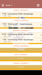 OLY Be - Cours de Yoga- screenshot thumbnail