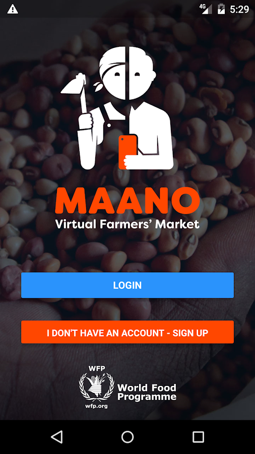Maano - Virtual Farmers Market- screenshot