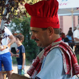 Chef by Sámuel Zalányi - Food & Drink Cooking & Baking ( banat, street food, chef, goulash, gulyas,  )