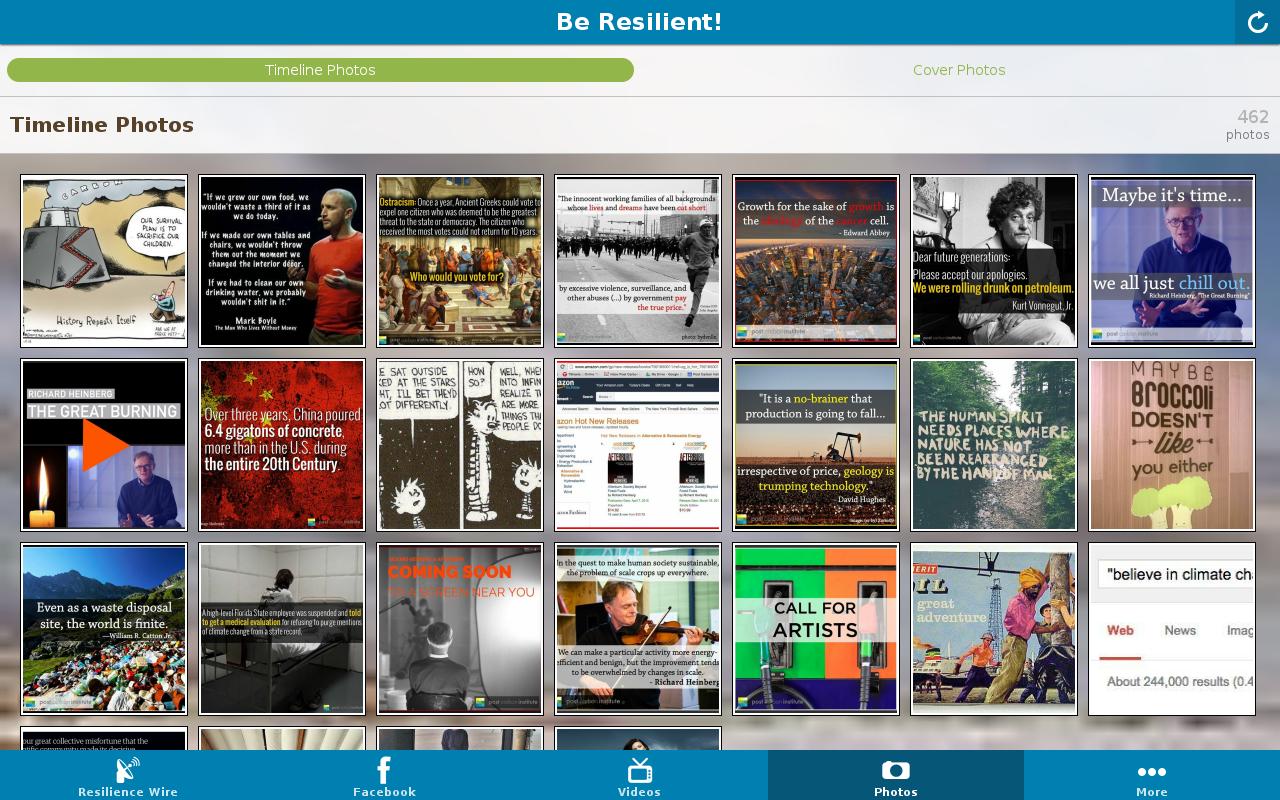 Resilience - screenshot