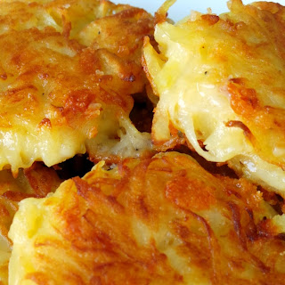 Crispy Cheesy Hash Browns.