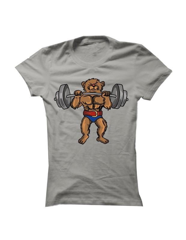 Sportinator - dámské sportovní tričko s potiskem